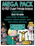 Lucy Writing Workshop: 2nd Grade Notebook - MEGA PACK - Di