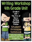 Lucy Writing Workshop - 4th Grade Notebook - Unit 1