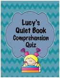 Lucy's Quiet Book Comprehension Assessment