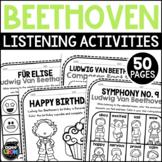 Beethoven Composer Listening Activities, December
