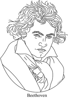 Ecdn Teacherspayteachers Com Thumbitem Ludwig Van Beethoven Childhood Coloring Of