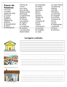 Lugares y Vocabulario