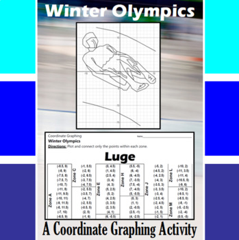 Luge - An Olympic Coordinate Graphing Activity