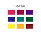 Luggage Tag Name Tag - Dark Colors