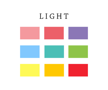 Luggage Tag Name Tag - Light Colors