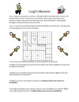 Luigi's Mansion Compound Probability
