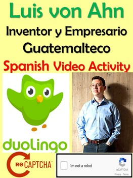 Luis von Ahn - Creator of Duolingo Interview and Activity in Spanish