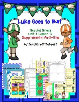 Luke Goes To Bat (Journeys Unit 4 Lesson 17)