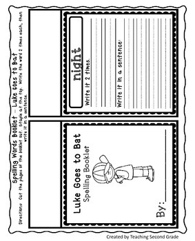 Luke Goes to Bat Worksheets Journeys Second Grade