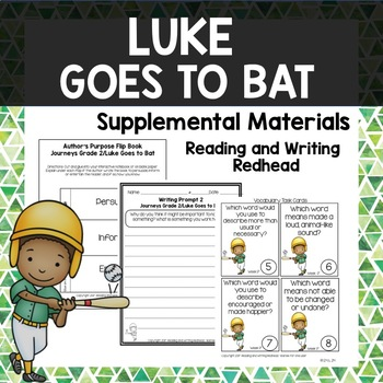 Luke Goes to Bat - Journeys Second Grade Week 17