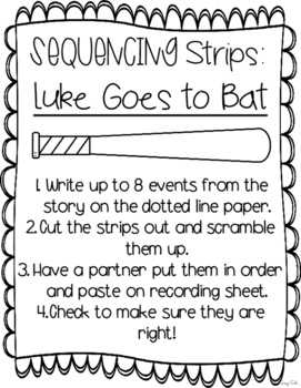 Luke Goes to Bat: Journeys Unit 4 Lesson 17 Supplemental Resources