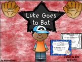Luke Goes to Bat Review Task Cards for Houghton Mifflin Journeys