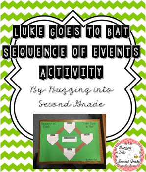 Luke Goes to Bat Sequence of Events Activity (Journey's Supplement)