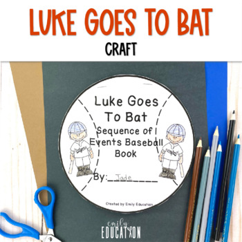 Luke Goes to Bat Supplement Materials Journeys 2nd Grade