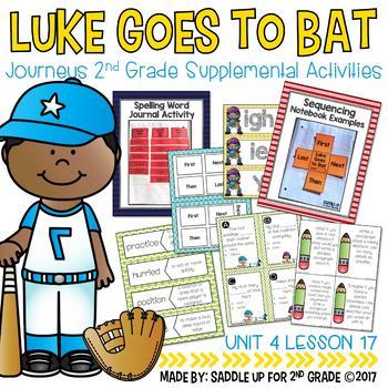 Luke Goes to Bat Supplemental Activities