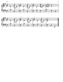 Lullaby (Christmas Lullaby) for Recorder and Piano