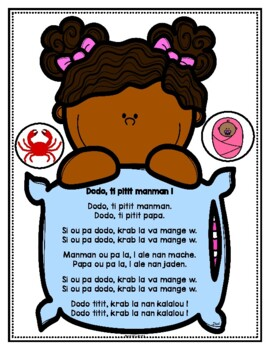 Lullaby Lyrics: Dodo, Ti Pitit Manman in Haitian Creole, English and French
