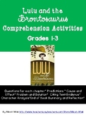Lulu and the Brontosaurus Comprehension Guide