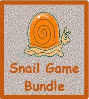 Lumaca (Snail game in Italian) Vocabulary Bundle