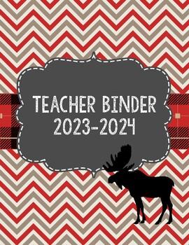 Lumberjack Camping Forest Theme Teacher Binder 2018-2019