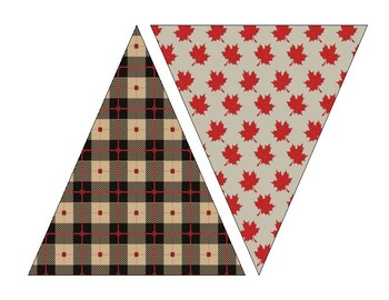 Lumberjack Camping Theme Welcome Banner and Printable Banners