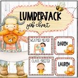 Lumberjack EDITABLE Classroom Helpers