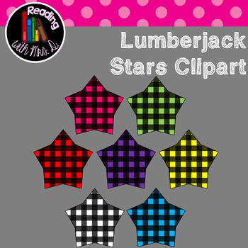 Lumberjack Stars Clip Art