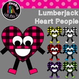 Lumberjack Valentine People Clip Art