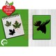 Lumberjack clipart, Green Buffalo plaid clipart, Animal Silhouettes, AMB-2360