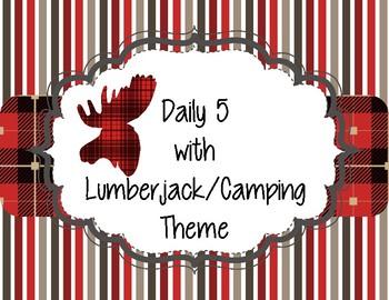 Lumberjack or Camping Theme Daily 5