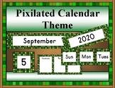 Classroom Calendar Resources (Pixelated)