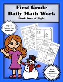 First Grade Daily Math: Book Four