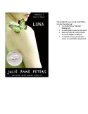 Luna by Julie Anne Peters - Resource Bundle