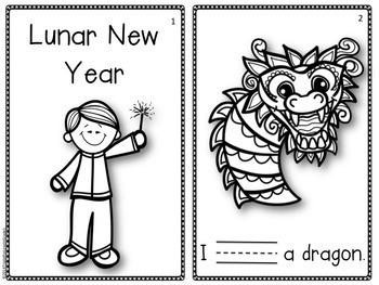 Lunar (Chinese) New Year Emergent Reader