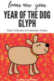 Chinese New Year 2018 Glyph - Lunar New Year Glyph - Year of the Dog