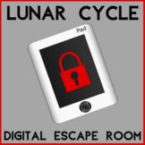 Lunar Cycle Escape Room Digital Distance Learning Moon Pha