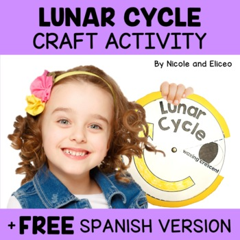 Moon Phases and Lunar Cycle Craft Activit