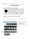 Lunar Cycle Pre/Post-Test with Rubric