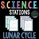 Lunar Cycle - S.C.I.E.N.C.E. Stations - Distance Learning Compatible