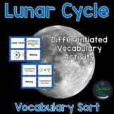 Lunar Cycle Vocabulary Sort