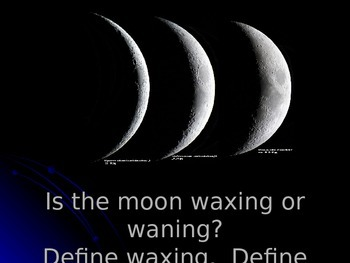 Lunar Cycle Warm-Up Questions