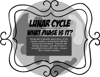 Lunar Cycle What Phase it? QR Code