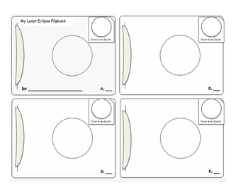 Lunar Eclipse Flip Book