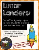 Lunar Landers: An NGSS-Aligned Engineering Challenge
