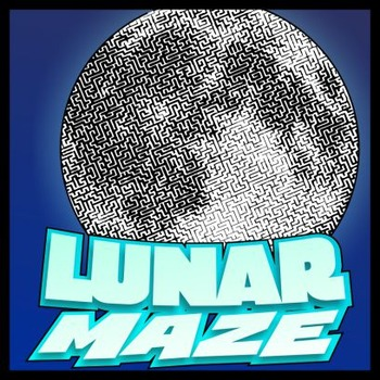 Lunar Pictorial Maze - Intricate, full-page maze activity