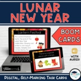 Lunar New Year (Chinese New Year) -  BOOM Cards - Digital Interactive Task Cards