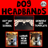 Dog Headbands for 101st Day of School or Lunar New Year 2030