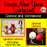 Lunar New Year Lanterns for Chinese New Year or Tet