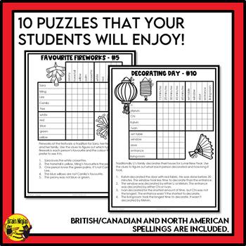 Lunar New Year Logic Puzzles
