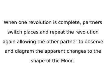 Lunar Phases LESSON, 4th Grade